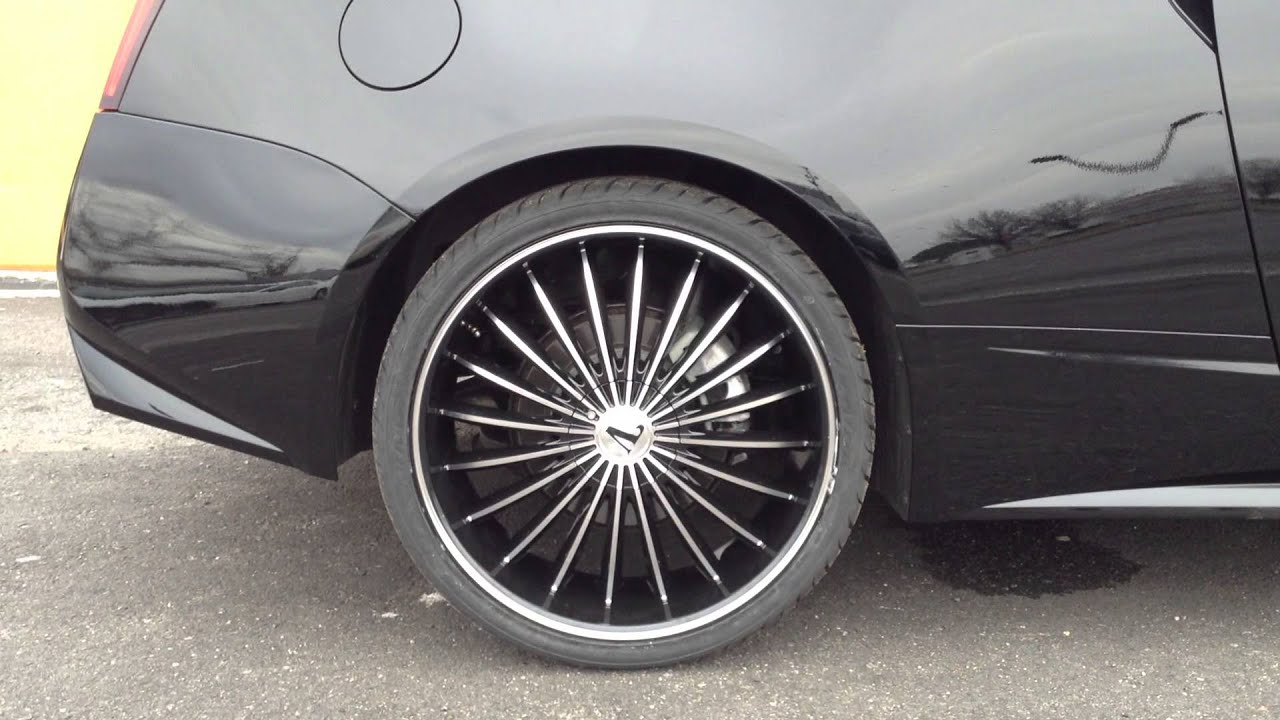 22 Quot Velocity Vw 11 On A Cadillac Cts Coupe Rimtyme Of