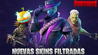 "ALL ""NEW SKINS"" FILTERED THAT WILL BE IN FORTNITE DURING HALLOWEEN 🔥DollarGames🔥"