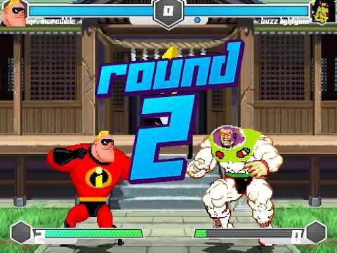 MI MUGEN Request 217 - Mr. Incredible VS Buzz Lightyear