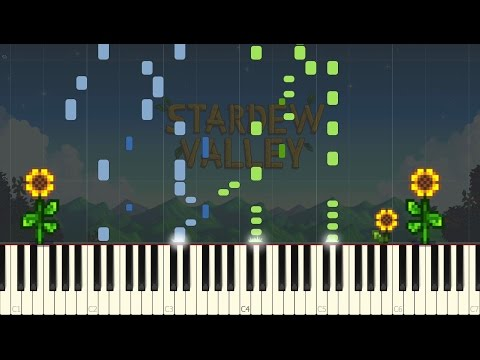 Nature's Crescendo (Summer) - Stardew Valley [Piano Tutorial] (Synthesia)