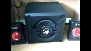 Bass test - Genius GX gaming SW-G2.1 1250