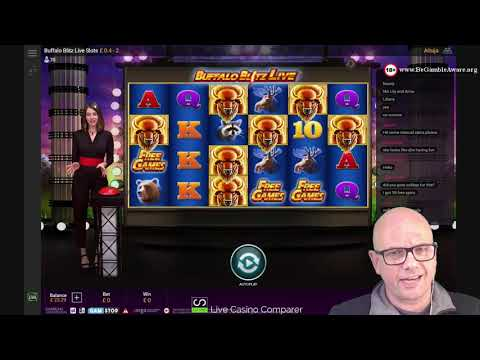 Playtech Live Slots - Buffalo Blitz Live Slot