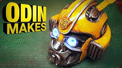 Odin Makes: Bumblebee's head from the new Transformers movie- Bumblebee