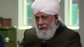 Hazrat Mirza Masroor Ahmad - Interview With The Caliph - CBC National News - by roothmens