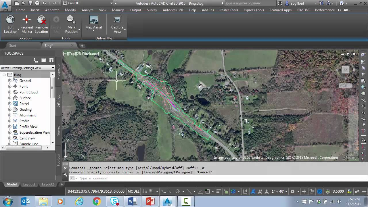 Autocadcivil 3d tips and tricks pt 8 bing maps adjusting bing autocadcivil 3d tips and tricks pt 8 bing maps adjusting bing imagery gumiabroncs Gallery