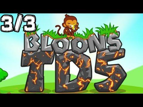 Bloons Tower Defense 5 Gameplay - Let's Flash 3/3 (EASY) [GLP]