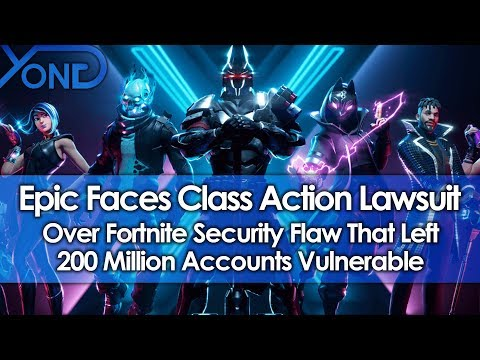 Epic Games Facing Potential Class-Action Suit Over Fortnite Account