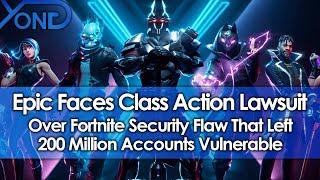 Epic Faces Recours collectif sur Fortnite Security Flaw qui a laissé 200 millions de comptes exposés