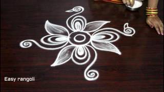 how to draw beautiful indian peacock rangoli art designs || kolam designs || muggulu designs
