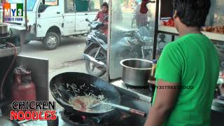 Chicken Noodles | Street Food | Hyderabad Street Food | Chicken Recipes