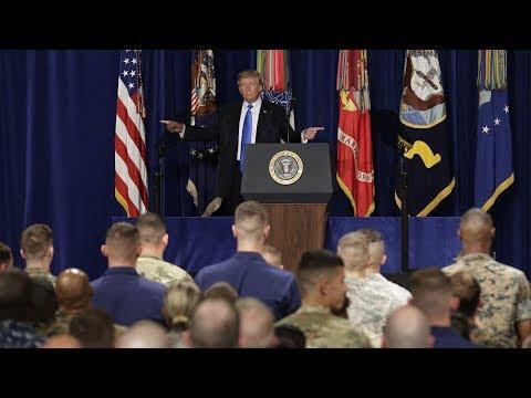 WATCH: President Trump Speaks to Troops at Yokota Air Base in Japan 11/4/17