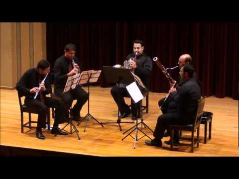 La Cheminee Du Roi Rene (The Chimmey Of King Rene) by Darius Milhaud Woodwind quintet Suite