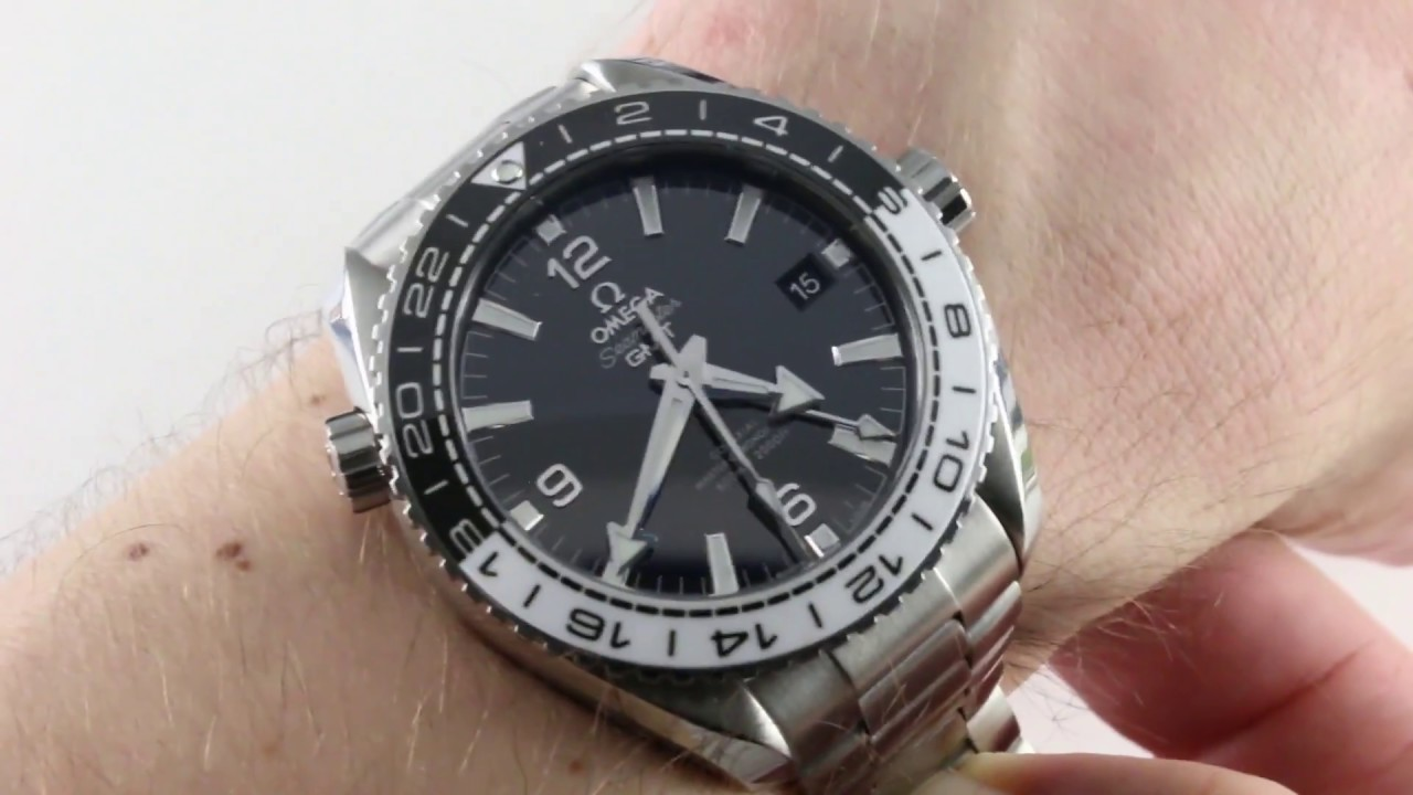 af6d9154f63b Omega Seamaster Planet Ocean GMT Co-Axial Master Chronometer  215.30.44.22.01.001 Luxury Watch Review