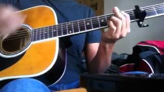 The Red Jumpsuit Apparatus - Face Down Acoustic (Guitar Cover)