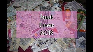 HAUL scrapbooking 2018 - Aliexpress y más