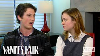 """Brie Larson and Miles Teller Talk to Vanity Fair's Krista Smith About """"The Spectacular Now"""""""