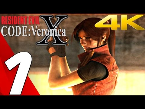 Resident Evil Code Veronica X HD - Gameplay Walkthrough Part 1 - Prologue [4K UHD] PS4/Dolphin