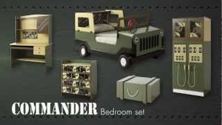 Army Commando Theme Bed/bedroom Furniture For Kids Children From Little Devils Direct