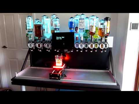 this bartending machine can make any mixed drink you want videos. Black Bedroom Furniture Sets. Home Design Ideas