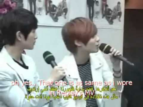 SHINee interview @ KBS world radio arab ( eng sub) part 2