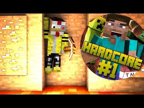 El NOOB En Hardcore | Ep.1: LA CUEVA TROLL | Serie Minecraft Extremo