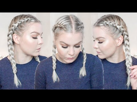 How To Cornrow Braid Your Own Hair For Beginners | EverydayHairInspiration