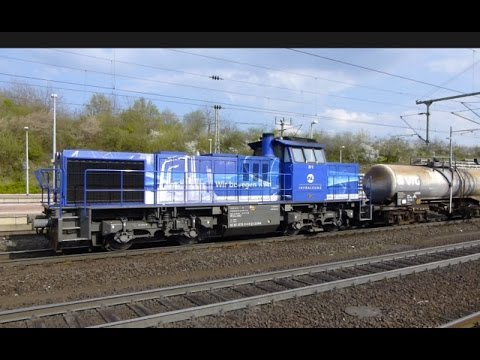 Germany: Passenger & Freight Trains at Kassel Wilhelmshöhe Bhf