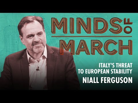 Italy's Threat to European Stability (w/ Niall Ferguson) | Interview | Real Vision™