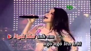 Chim trang mo coi karaoke song ca voi giong nu
