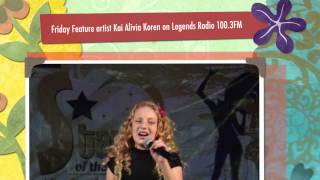 """What a Wonderful World ""Cover by Kai Alivia Koren on Legends Radio 100.3FM"