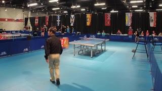 2019 CWG - Table Tennis - Men's/Women's Singles - Table 2
