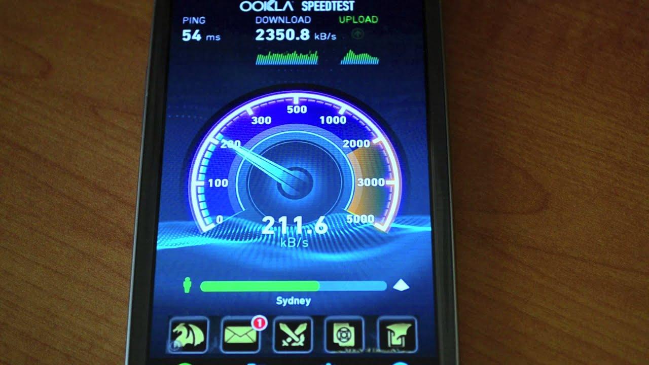 Vodafone 4G Speed Test Australia!
