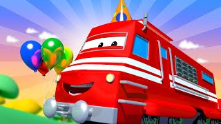Поезд Трой - Спецвыпуск ко Дню Отца - Кэри готовит сюрприз для Тедди - детский мультфильм