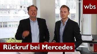 Massenrückruf bei Mercedes - Jetzt Autokredit widerrufen | RA Solmecke und RA Kiraga