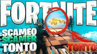 FORTNITE SAVE THE WORLD- Scameo Al Scamer MORE TONTO DE FORTNITE!😂 *VERY EPIC*