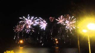 Buz Luhrman fireworks in Cannes 2013