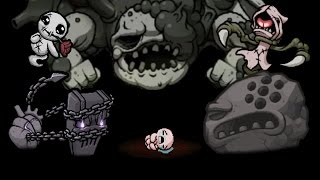 The Binding Of Isaac Antibirth All Bosses Compilation (Fan DLC)