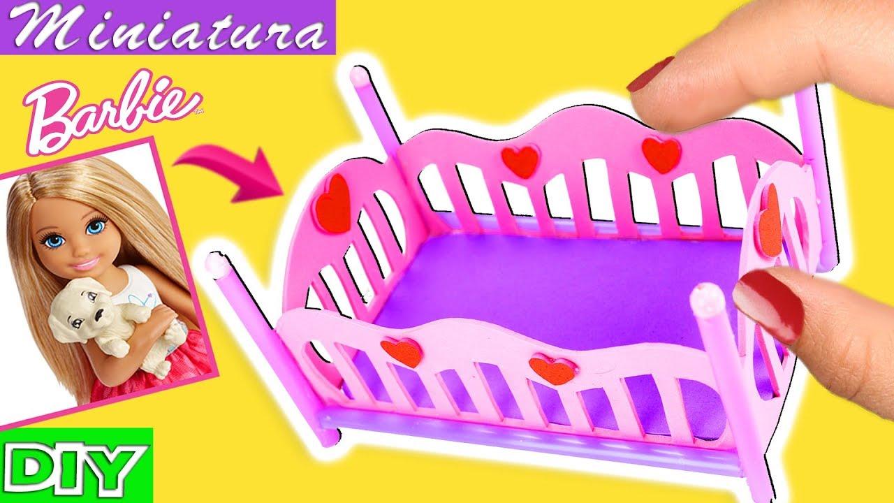Cómo Hacer Una Cama Cuna Para Muñecas Barbie - L.O.L - Ksi-merito ...