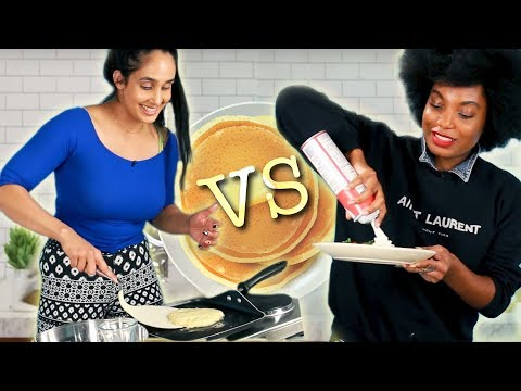 Who Can Make The Best Pancakes in 10-Minutes?