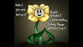 Ask frisk and flowey