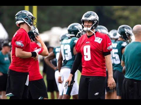 Philadelphia Eagles' Nick Foles — a self-described 'gamer' — explains his practice vs. game day approach