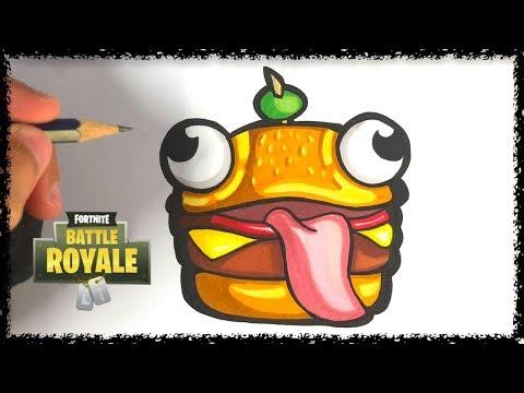 Comment Dessiner Le Durr Burger Fortnite Youtube