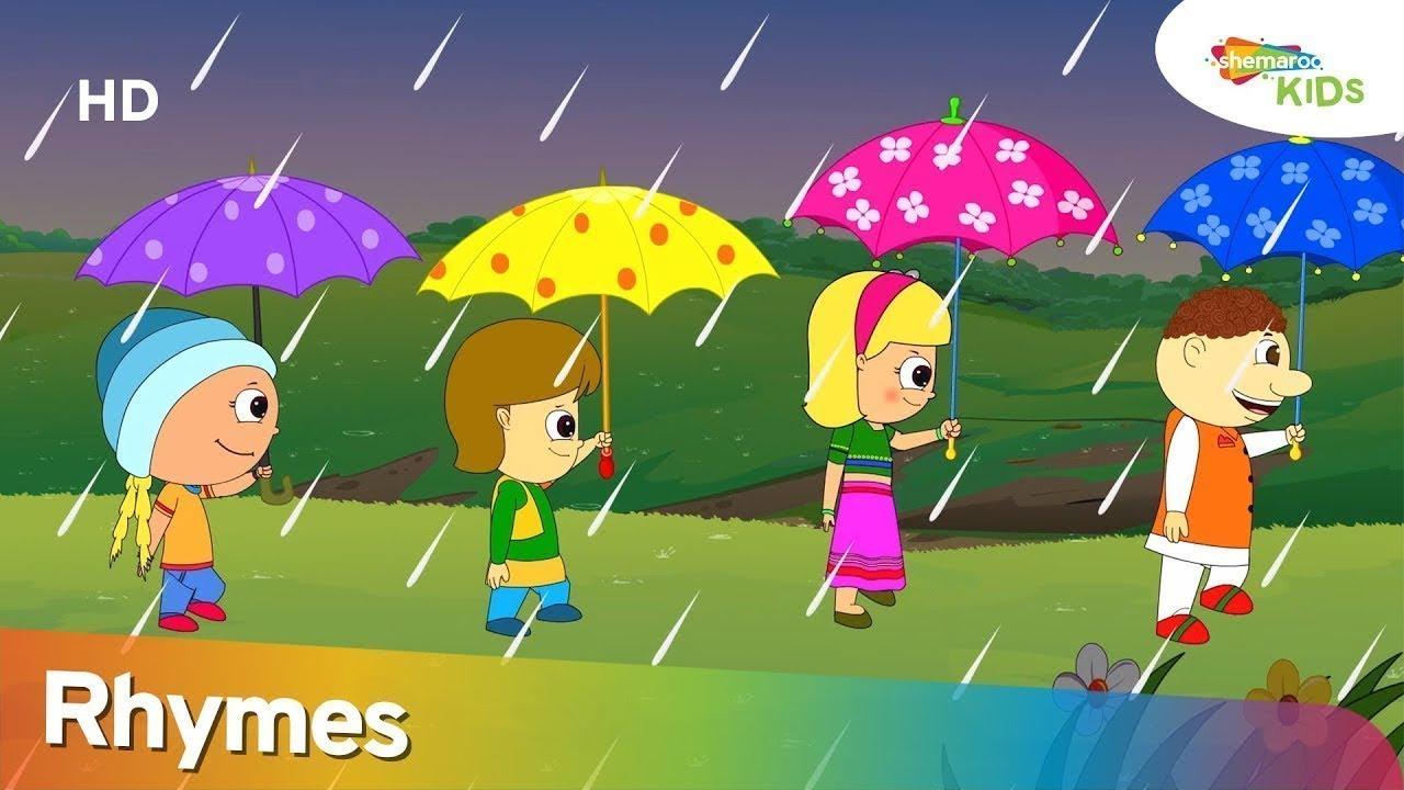 बारिश आई और अन्य लोकप्रिय हिंदी बच्चों के कविता    Shemaroo Kids