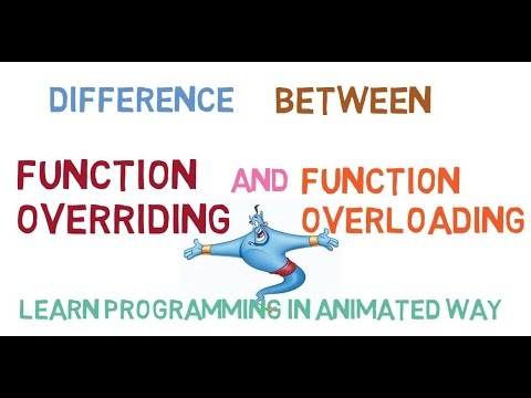Difference between Function Overriding and Function Overloading in C++ -46