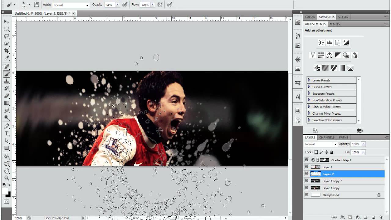 Jakesdesigns] photoshop cs5 sig tutorial by me [jd] youtube.