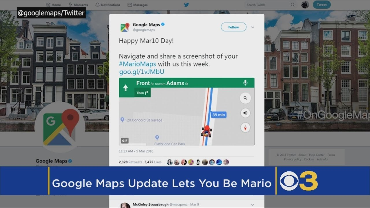 Here's How To Add Mario Kart To Your Google Maps This Week