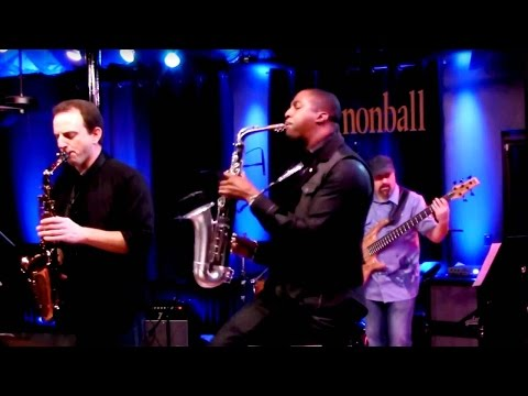 """Uptown Funk"" Mark Ronson ft. Bruno Mars: The Cannonball Band saxophone cover ft Eric Darius"