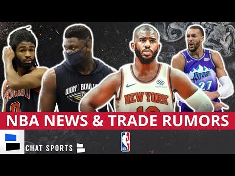 nba-trade-rumors:-chris-paul-trades-&-rudy-gobert-to-chicago?-+-nba-news-on-zion-williamson-leaving