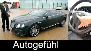 Bentley Continental GT Speed 2015 Videos