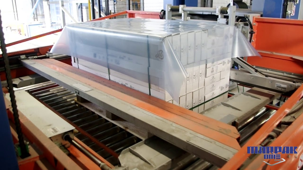 Linea confezionamento pallet industria ceramica youtube automatic packaging system for pallets ceramic tile industry dailygadgetfo Image collections
